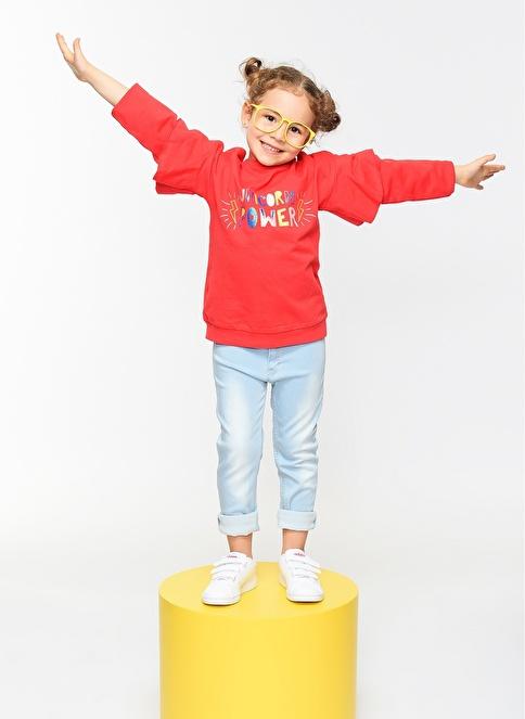 Morhipo Kids Unicorn Sweatshirt Fuşya
